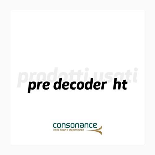 Pre decoder HT