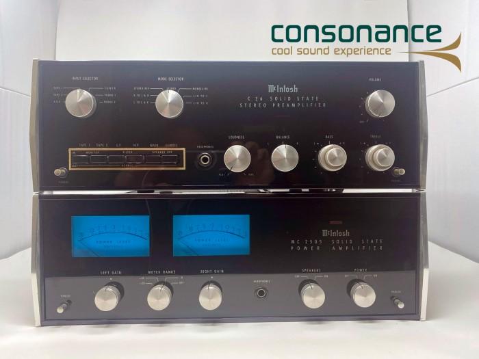 Mcintosh C 26 + MC 2505