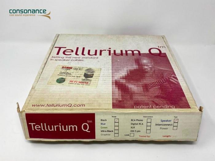 Tellurium Q Black - Cavo per diffusori Cavo di potenza Tellurium Q modello Black, disponibile in versione terminata in fabbrica con banane. Misura: 2 metri.